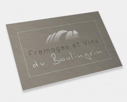 logo Fromages et vins du Boulingrin