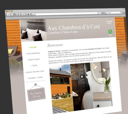 site web Aux Chambres d'à Coté